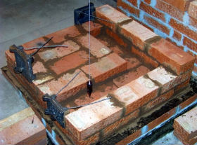 Чертежи кирпичных печей для бани.