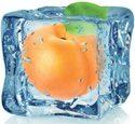 Кухонный фартук ХДФ Фруктовый лед