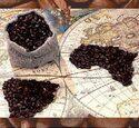 Кухонный фартук ХДФ География кофе