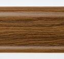 Напольный плинтус LinePlast Гранд LM013 Дуб тёмный