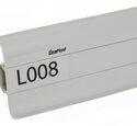 Плинтус LinePlast Стандарт L008 Серый однотонный