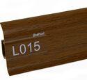 Напольный плинтус LinePlast Стандарт L015 Мербау натуральный