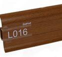 Напольный плинтус LinePlast Стандарт L016 Светлый махагон