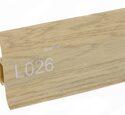 Напольный плинтус LinePlast Стандарт L026 Дуб мокко