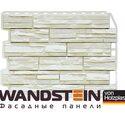 Цокольный сайдинг Holzplast Скол Белый