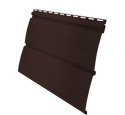 Виниловый сайдинг Grand Line Блок-хаус Мореный дуб