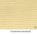 Виниловый сайдинг Variform Varitek Солнечно-желтый