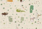 Напольная клеевая пробка Corkstyle Children Animals 6 мм