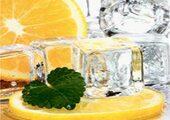 Кухонный фартук ХДФ Апельсин