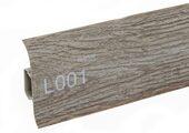Напольный плинтус LinePlast Стандарт L001 Африканское дерево