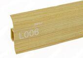Напольный плинтус LinePlast L006 Сосна