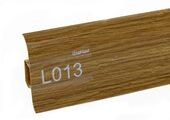 Напольный плинтус LinePlast L013 Дуб тёмный