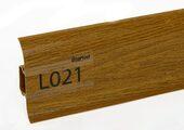 Напольный плинтус LinePlast L021 Дуб жженый