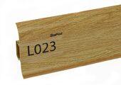 Напольный плинтус LinePlast L023 Дуб античный