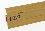 Напольный плинтус LinePlast L027 Бук ютландский