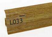 Напольный плинтус LinePlast L033 Дуб анданте