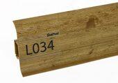 Напольный плинтус LinePlast L034 Сосна замковая