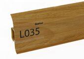 Напольный плинтус LinePlast L035 Орех итальянский