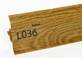 Напольный плинтус LinePlast L036 Дуб магнатский
