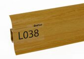 Напольный плинтус LinePlast L038 Дуб золотой