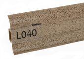 Напольный плинтус LinePlast L040 Треви гранит