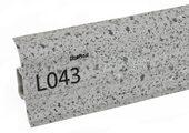 Напольный плинтус LinePlast L043 Серый гранит