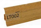 Напольный плинтус LinePlast LT002 Пестрое дерево