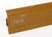 Напольный плинтус LinePlast LT018 Вишня дикая