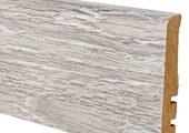 Плинтус Alsapan 15x80 714 Белый Термо