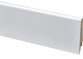 Плинтус МДФ GreFF 17x80 1004 Белый глянец