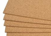 Подложка пробковая листовая 1000х500х6мм