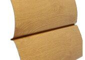 Tecos Двойной оцилиндрованный брус Сосна светлая