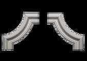 Угловой элемент Европласт 1.52.302