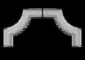 Угловой элемент Европласт 1.52.348
