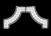 Угловой элемент Европласт 1.52.376