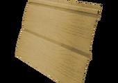 Виниловый сайдинг Grand Line Блок-хаус 3.0 GL Amerika D4.8 Бежевый