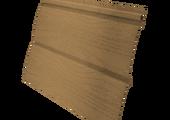 Виниловый сайдинг Grand Line Блок-хаус 3.0 GL Amerika D4.8 Карамельный
