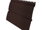 Виниловый сайдинг Grand Line Блок-хаус 3.0 GL Amerika D4.8 Мореный дуб