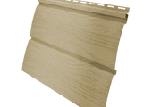 Виниловый сайдинг Grand Line Блок-хаус 3.0 GL Amerika D4.8 Ванильный