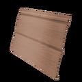 Виниловый сайдинг Grand Line Блок-хаус 3.0 GL Amerika D4.8 Темно-бежевый