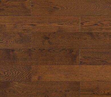 Массивная доска Amber Wood Янтарная Дуб Шоколад 150 мм