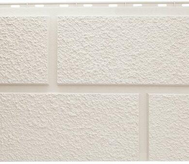 Белая фасадная панель Альта-Профиль Неаполь