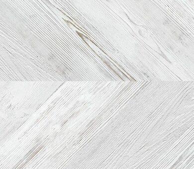 Пробковый пол Corkstyle Chevron 6 мм White