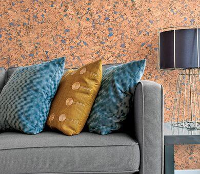 Настенная пробка Corkstyle Wall Design Monte Blue