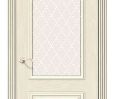 Дверь межкомнатная шпонированная Браво Вуд Классик-13 Ivory