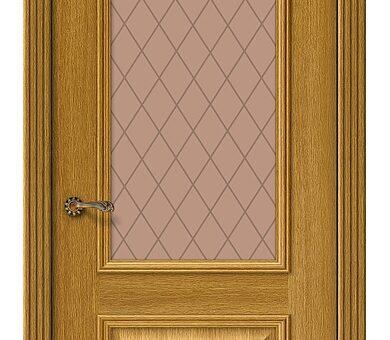 Дверь межкомнатная шпонированная Браво Вуд Классик-13 Natur Oak