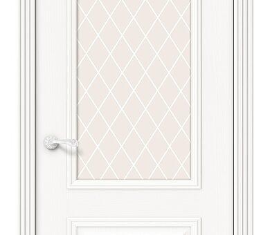 Дверь межкомнатная шпонированная Браво Вуд Классик-13 Whitey