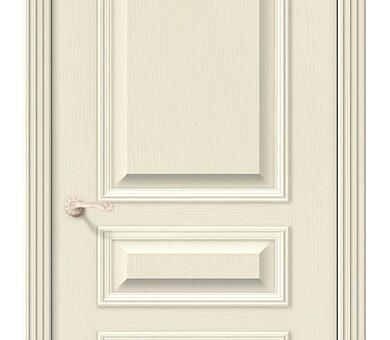 Дверь межкомнатная шпонированная Браво Вуд Классик-14 Ivory