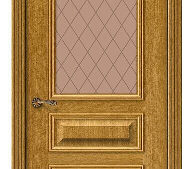Дверь межкомнатная шпонированная Браво Вуд Классик-15.1 Natur Oak
