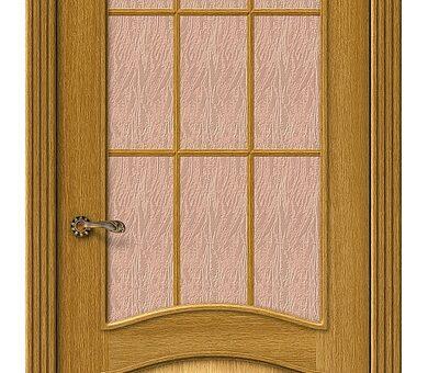 Дверь межкомнатная шпонированная Браво Вуд Классик-33 Natur Oak